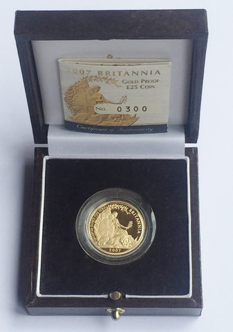 Picture of QEII 2007 £25 Gold Proof Britannia