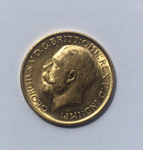 Picture of George V 1915 (M Mint) Sovereign