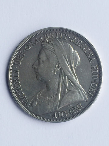 Picture of 1893 Queen Victoria Widow Head  Crown