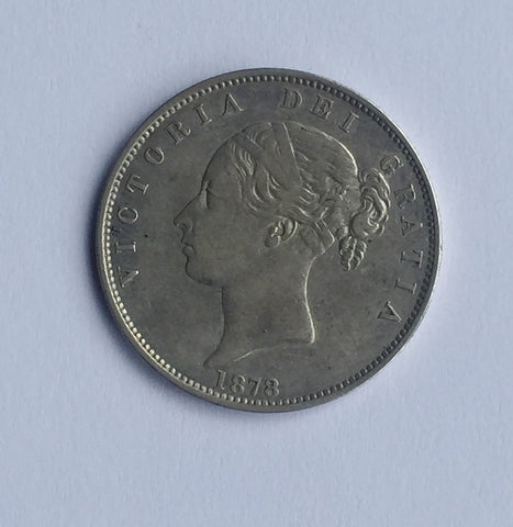 Picture of Queen Victoria Young Head 1878 Half Crown