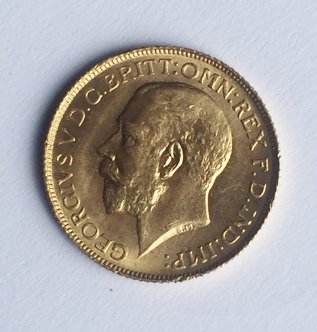 Picture of George V 1925 'High Rim' Sovereign