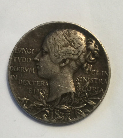 Picture of 1837- 1897 Queen Victoria Silver Medal