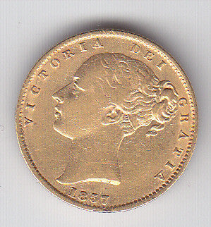 Picture of Victoria 1857 Gold Sovereign