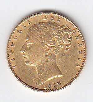 Picture of Victoria 'Douro shipwrecked'  Gold Sovereign