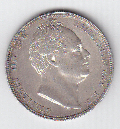 Picture of William IV 1834 Silver Half Crown