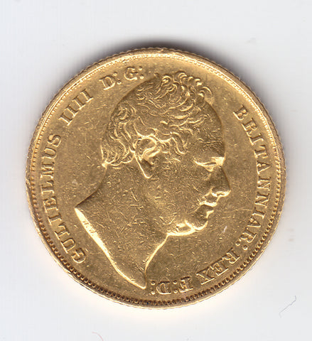 Picture of Rare 1831 King William IV Gold Sovereign