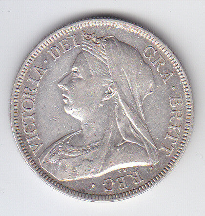 Picture of Victoria 1894 Silver Half Crown