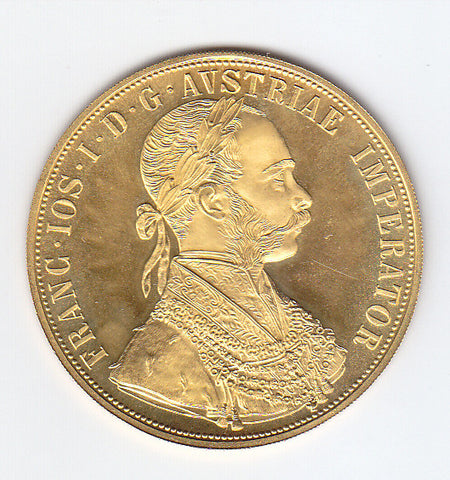 Picture of Austrian gold 4-ducat