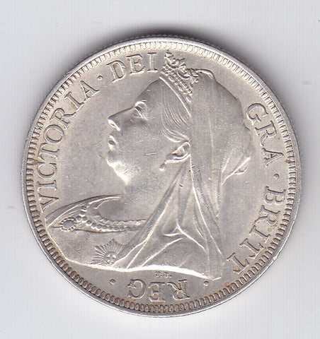 Picture of Queen Victoria 1900 Silver Half Crown