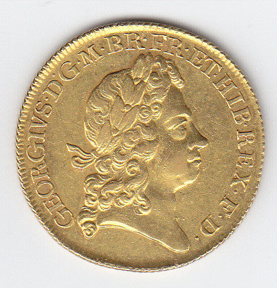 Picture of George I 1717 Gold Two Guinea