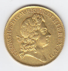 George I 1717 Gold Two Guinea