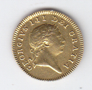 Picture of George III 1804 Gold Half Guinea