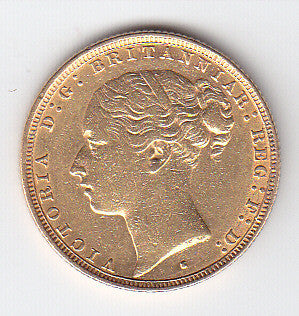 Picture of Victorian 1882 Gold Sovereign