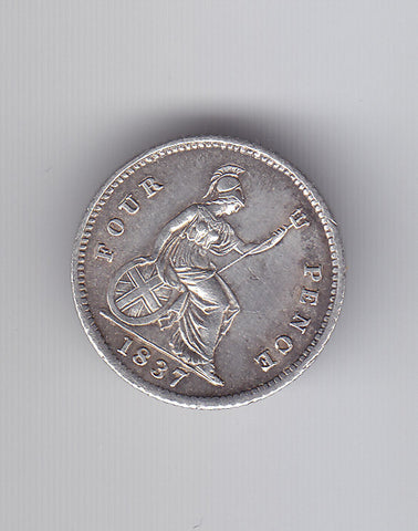 Picture of William IV 1837 Silver Groat