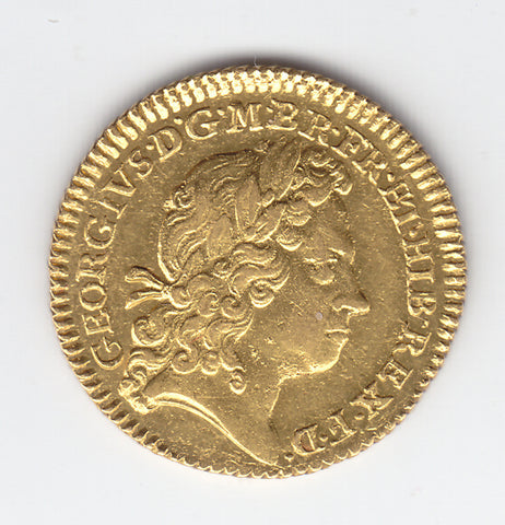 Picture of King George I 1722/ over 1720 Gold Half Guinea
