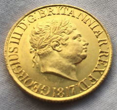 George III 1817 Gold Sovereign