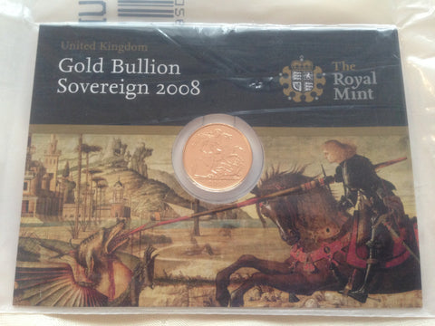 Picture of Elizabeth II 2008 Gold Sovereign