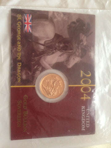 Picture of Elizabeth II 2004 Gold Sovereign