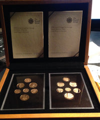 2008 Emblems of Britain and Shield of Arms Gold Proof Set : just 150 sets