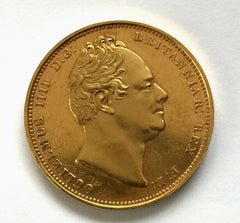 1831 Proof King William IV Two Pound Coin