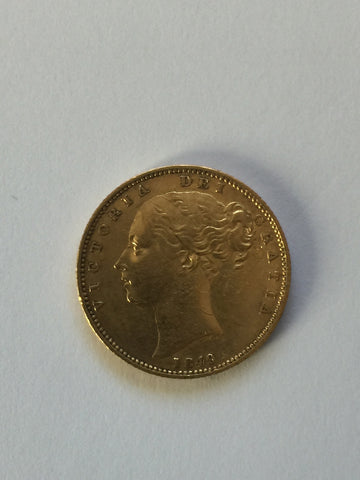 Picture of 1849 Gold Sovereign for sale