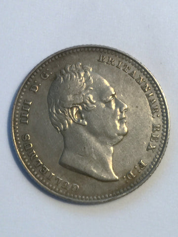 Picture of 1834 William IV Silver Shilling