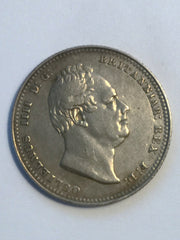 1834 William IV Silver Shilling