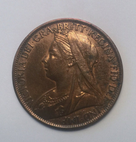 Picture of 1899 Queen Victoria Widow Head Penny