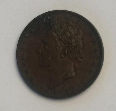 Picture of 1826 King George IV Farthing