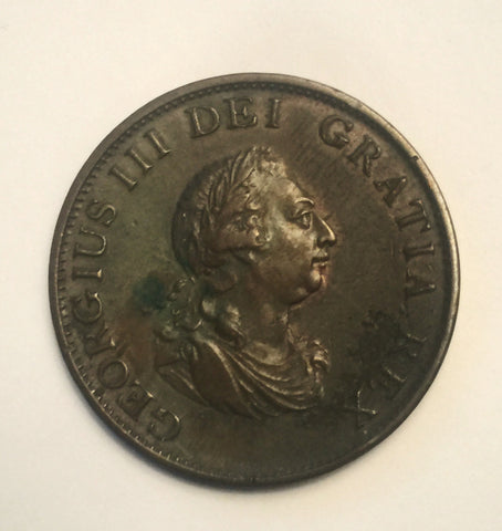 Picture of 1799 King George III Half Penny