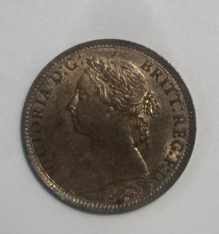 Picture of 1885 Queen Victorian Farthing