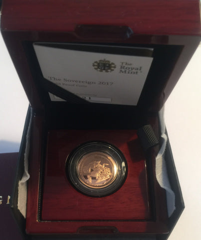 Picture of 2017 Gold Proof Sovereign