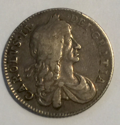 Picture of 1663 King Charles II Silver Shilling