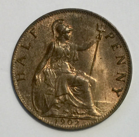 Picture of 1902 King Edward VII Half Penny