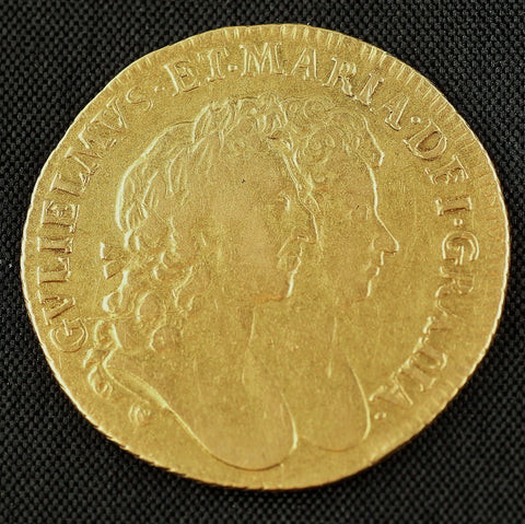 Picture of William and Mary 1693 Gold Guinea