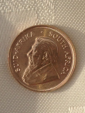 Picture of South African 2002 Gold 1/4oz Krugerrand