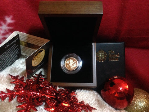 Picture of Elizabeth II 2010 Gold Proof Half Sovereign