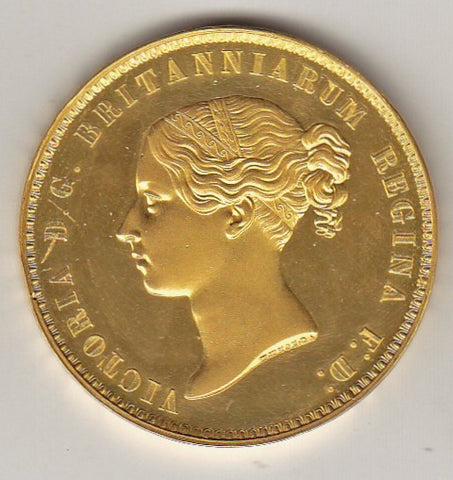 Picture of 1839 Una and the Lion Queen Victoria Gold Five Pound Coin