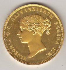 1839 Una and the Lion Queen Victoria Gold Five Pound Coin