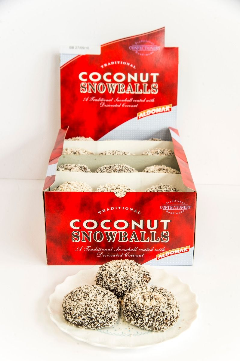 COCONUT SNOWBALLS (36 PER BOX)
