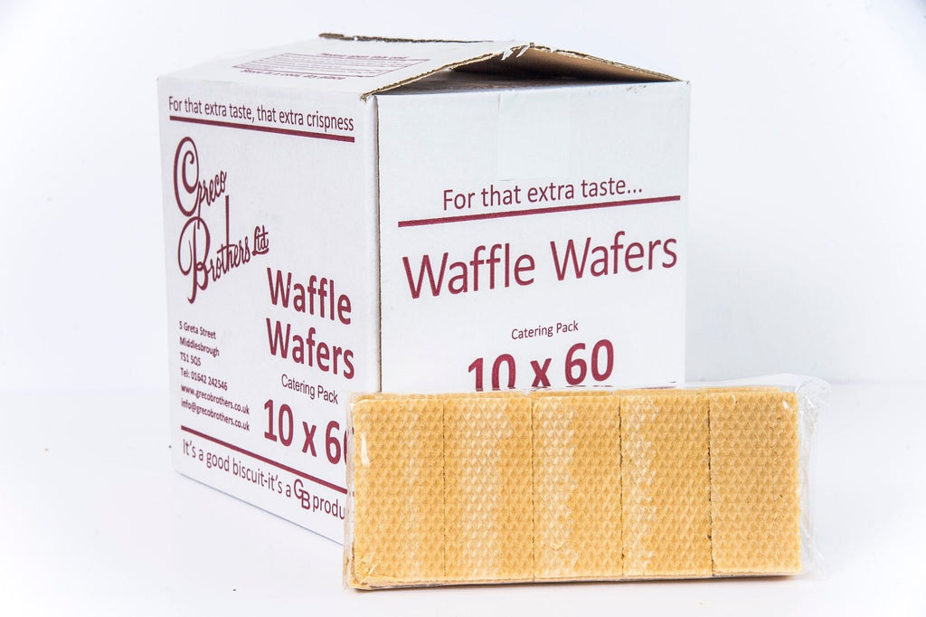 ICE CREAM WAFFLE WAFERS (10 X 60 UNITS)