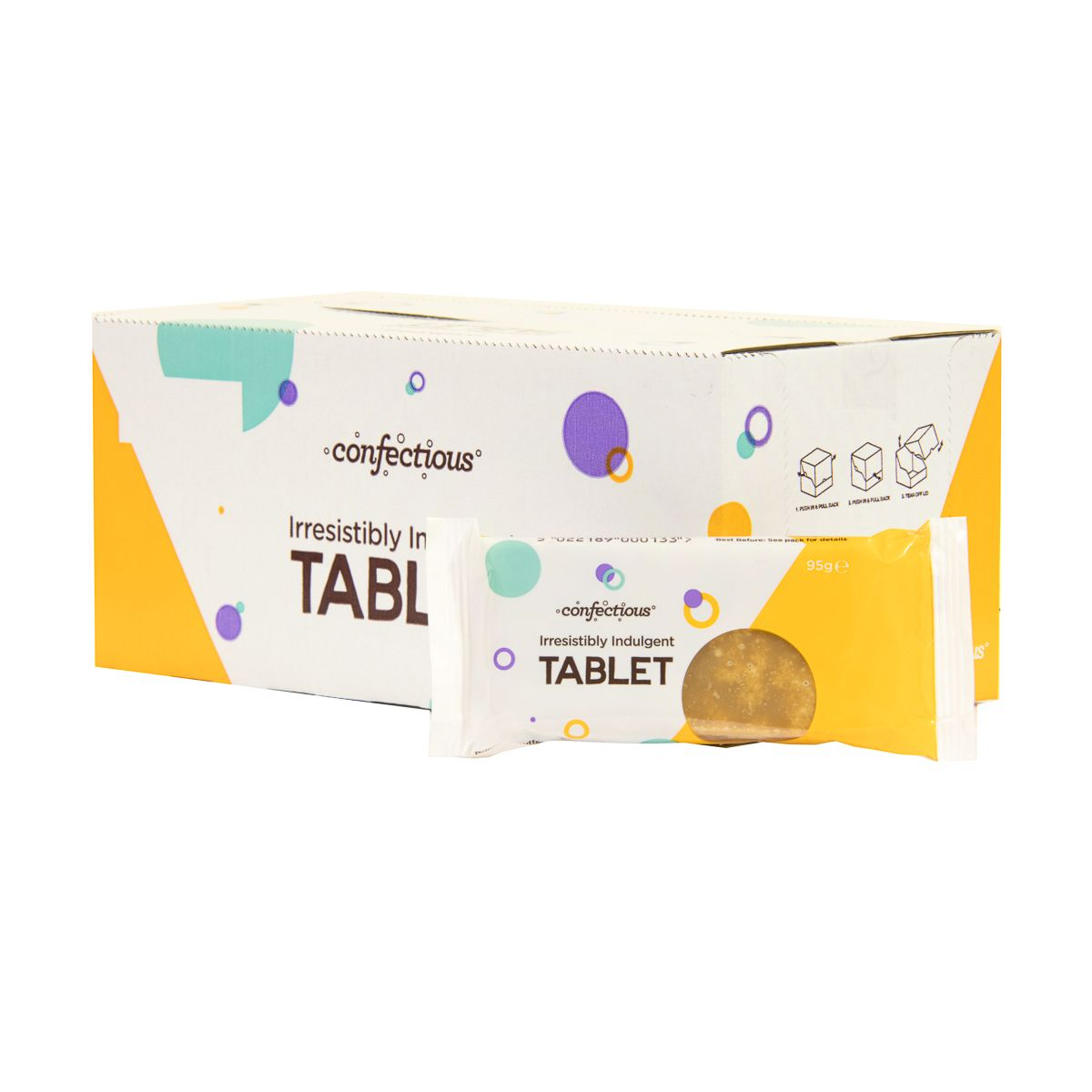 IRRESISTIBLY INDULGENT TABLET (24 X 95G)