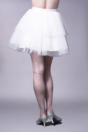 Layered tulle tutu skirt