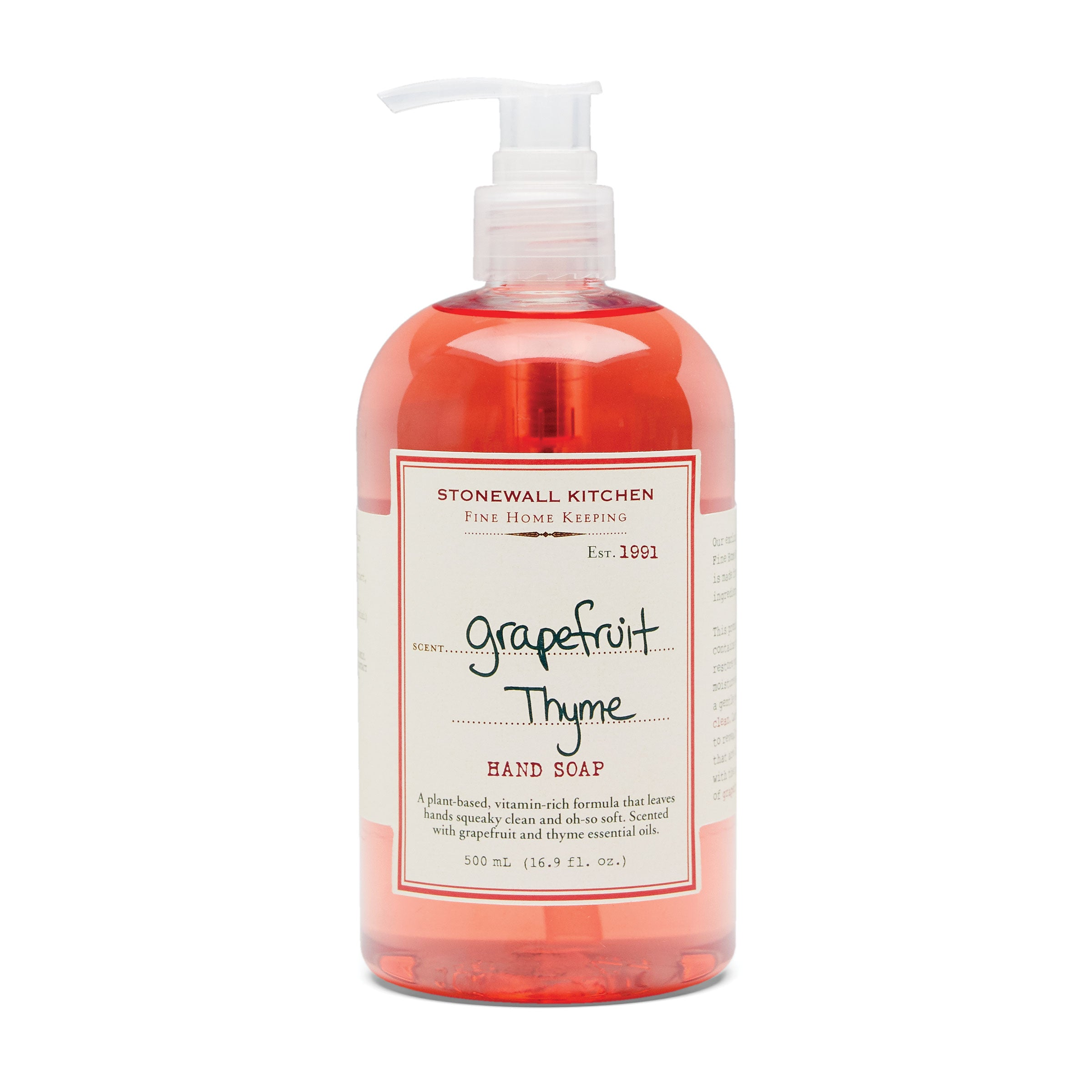 Grapefruit Thyme Hand Soap