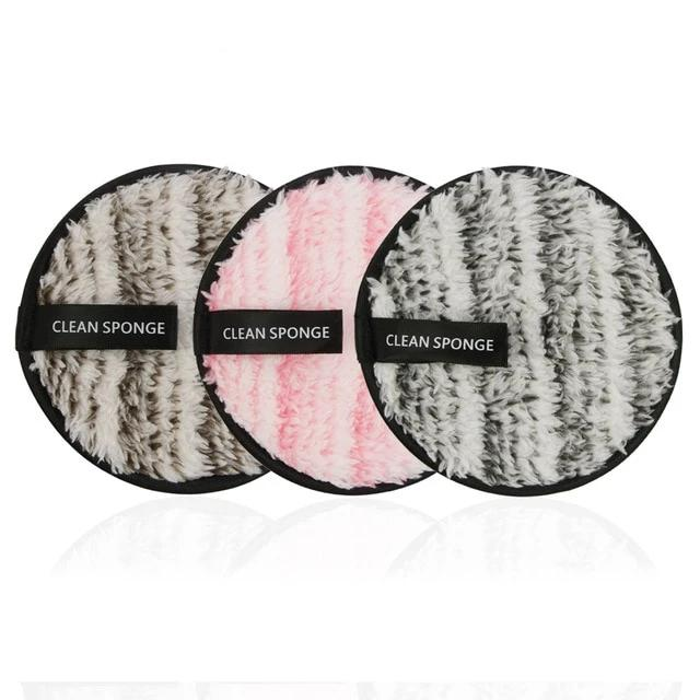 Reusable Makeup Remover Pads  ( 3 PCS )