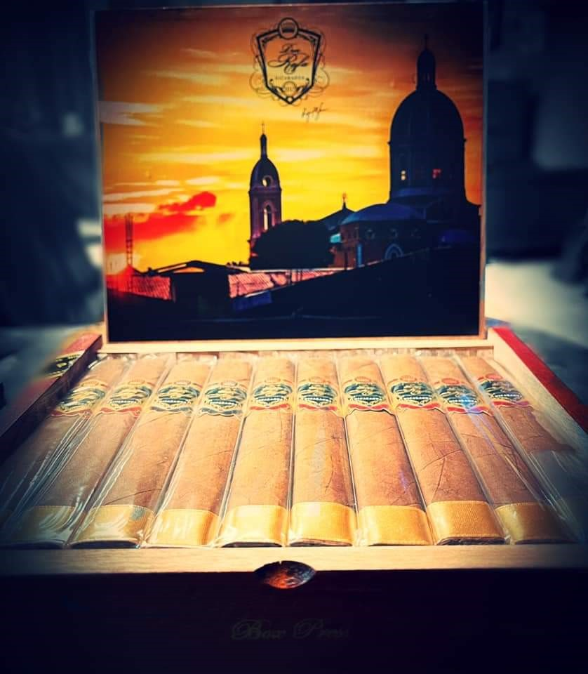 6 X 52 Box Press Habano