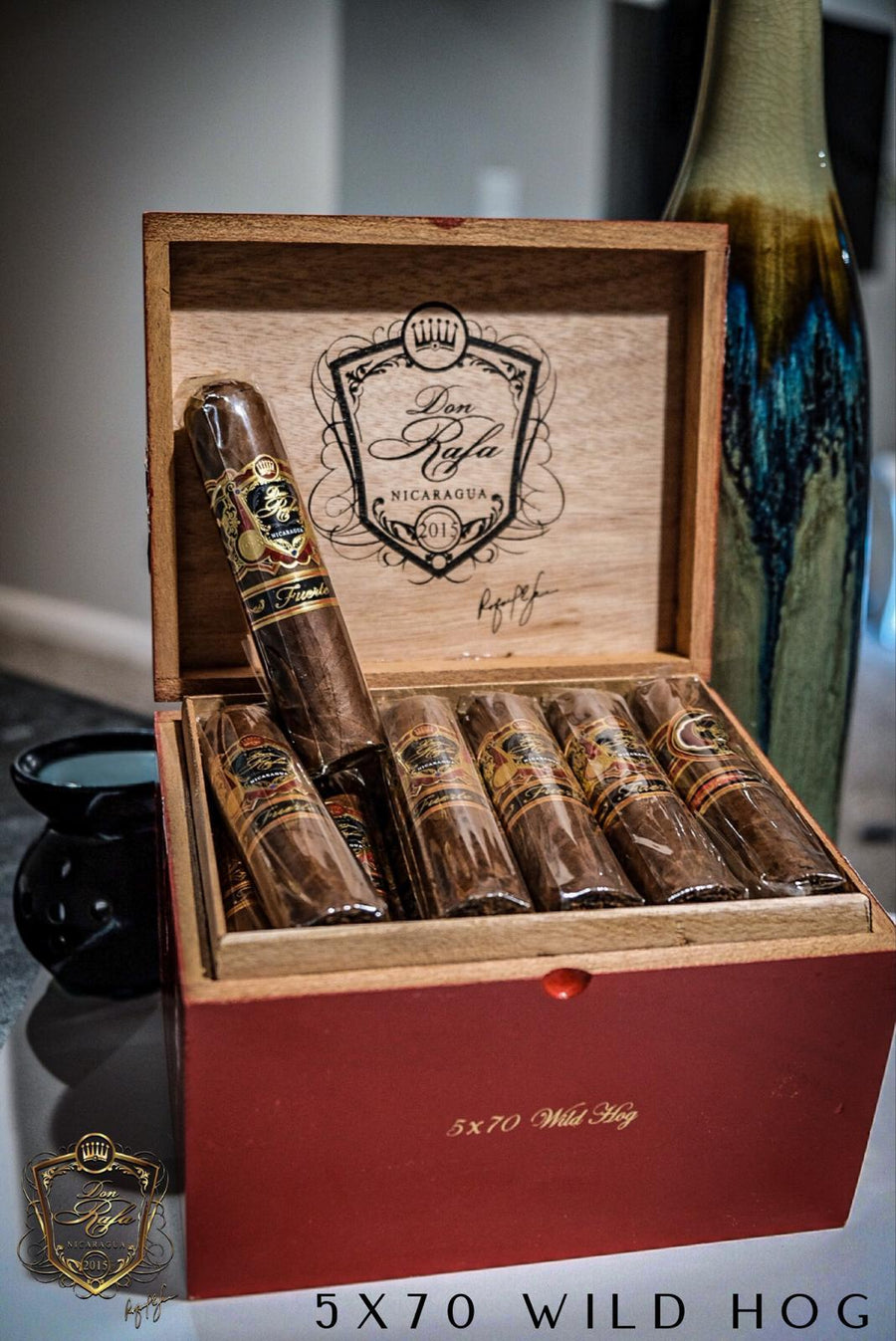 5 X 70 Wild Hog Habano - Don Rafa Distributors