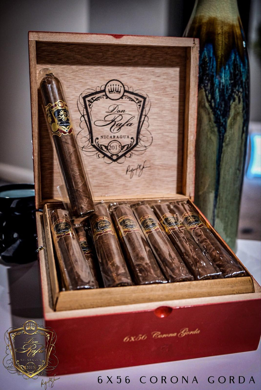 6 X 56 Corona Gorda Habano - Don Rafa Distributors