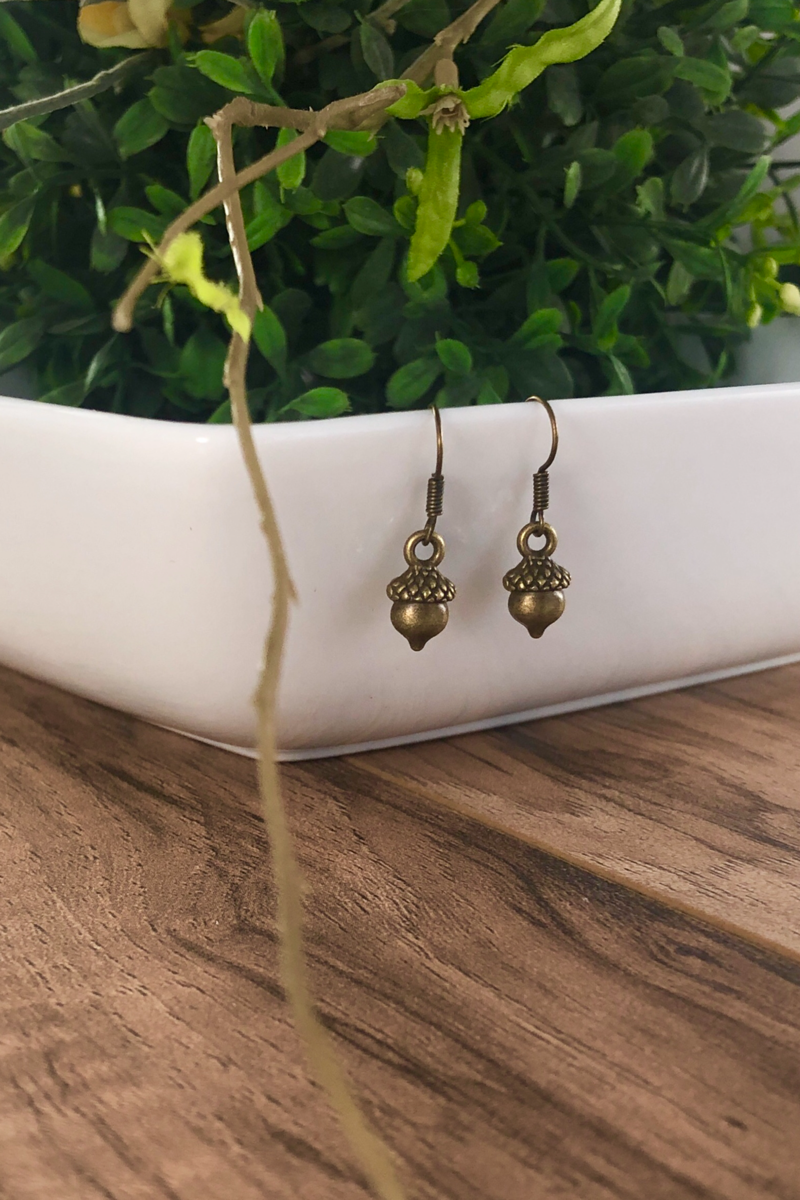 Emory Acorn Earrings