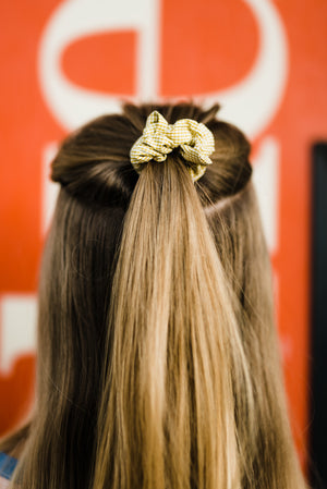 Mini Bow Scrunchie